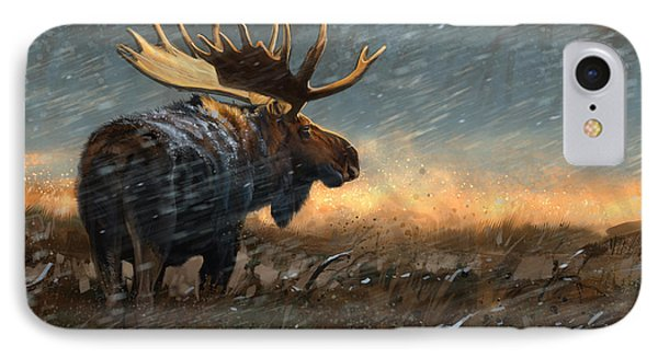 Incoming IPhone Case by Aaron Blaise