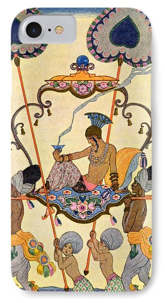 India Phone Case by Georges Barbier