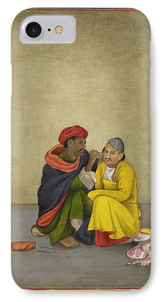 Indian Earpicker IPhone Case by British Library
