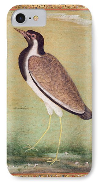Indian Lapwing IPhone 7 Case by Mansur