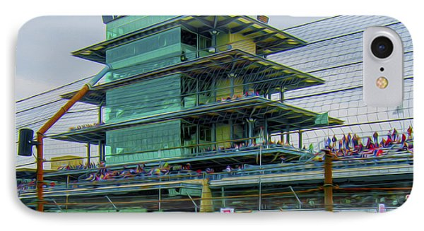 Indianapolis 500 May 2013 Square IPhone Case by David Haskett