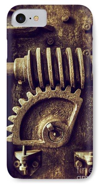 Industrial Sprockets IPhone Case by Carlos Caetano