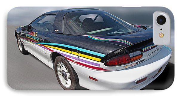 Indy 500 Pace Car 1993 - Camaro Z28 Phone Case by Gill Billington