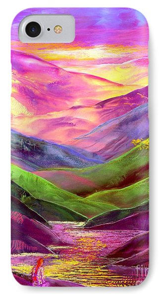 Inner Flame, Meditation IPhone Case by Jane Small