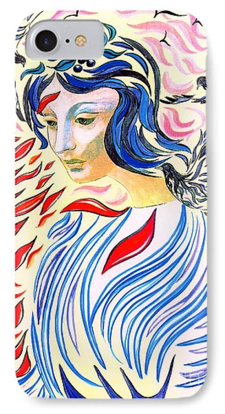 Inner Peace IPhone 7 Case by Jane Small