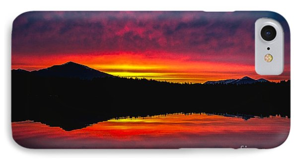 Inside Passage Sunrise Phone Case by Robert Bales
