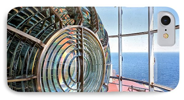 Inside The Lighthouse IPhone Case by Edward Fielding