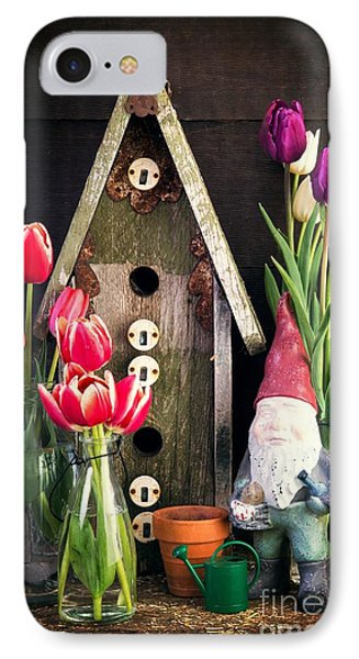 Inside The Potting Shed Phone Case by Edward Fielding