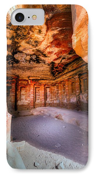 Inside The Tomb IPhone Case by Alexey Stiop