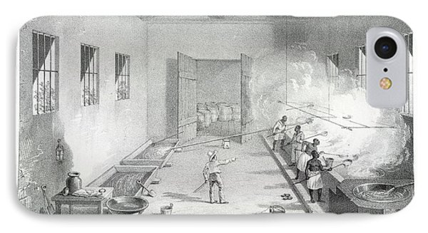 Interior Of A Boiling-house IPhone Case by British Library