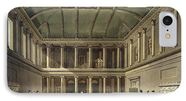 Interior Of Concert Room, From Bath Phone Case by John Claude Nattes