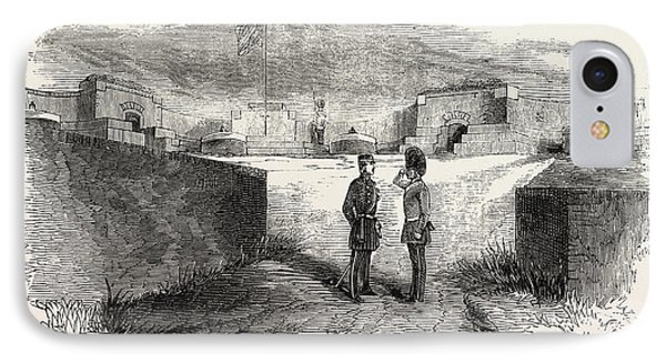 Interior Of Seaford Fort, East Sussex, Uk IPhone Case by English School