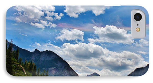 Iridescent Clouds Above Ouray Colorado Phone Case by Janice Rae Pariza