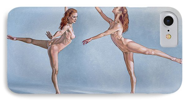 Irina Dancing IPhone Case by Paul Krapf