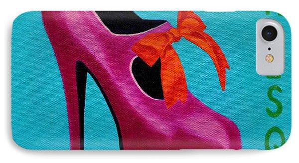 Irish Burlesque Shoe    IPhone 7 Case by John  Nolan