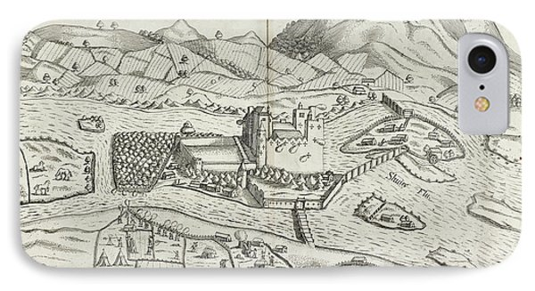 Irish Castle In Munster IPhone Case by British Library