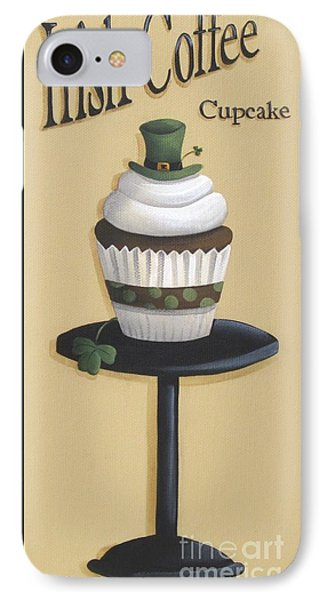 Irish Coffee Cupcake Phone Case by Catherine Holman