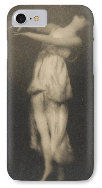 Isadora Duncan   Dancer IPhone Case by Arnold Genthe