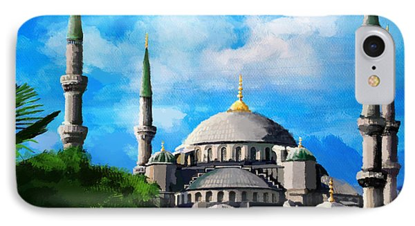 Islamic Mosque IPhone Case by Catf