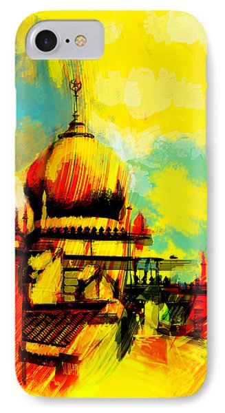 Islamic Painting 001 IPhone Case by Catf