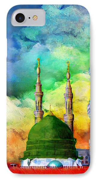 Islamic Painting 009 IPhone Case by Catf