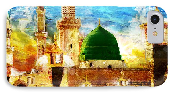 Islamic Paintings 005 IPhone 7 Case by Catf