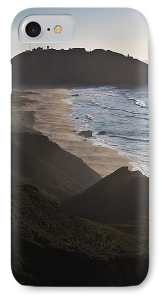 Island In The Pacific Ocean, Point Sur IPhone Case by Panoramic Images