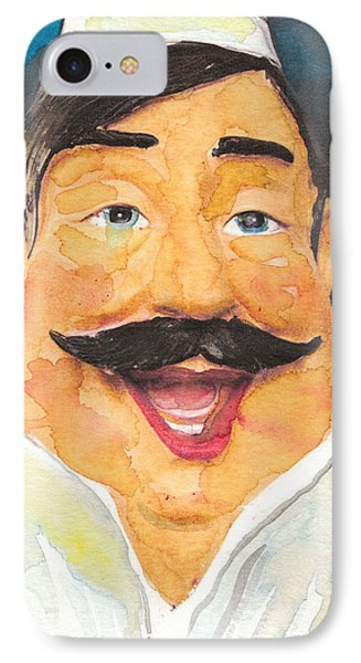 Italian Chef IPhone Case by Susan Powell