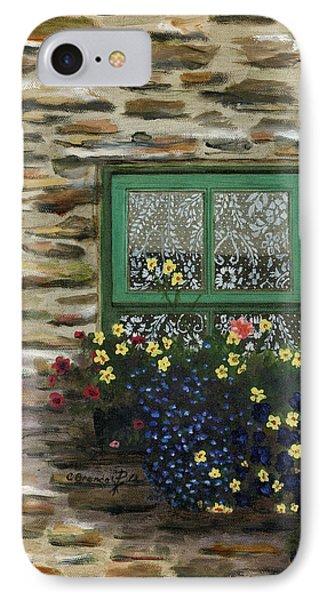Italian Lace Window Box Phone Case by Cecilia Brendel