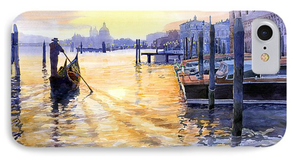 Italy Venice Dawning IPhone Case by Yuriy Shevchuk