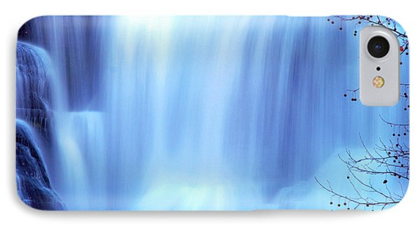 Ithaca Water Falls New York  Phone Case by Paul Ge