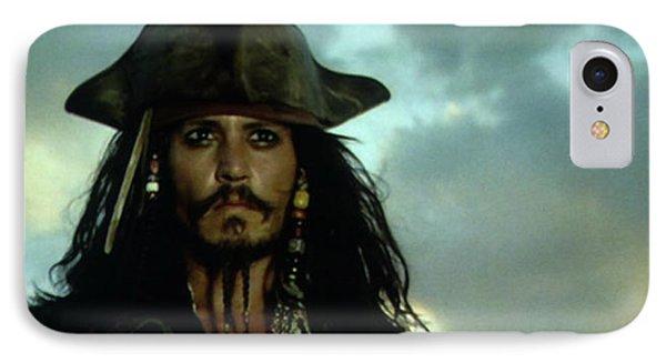 Jack Sparrow IPhone 7 Case by Jack Hood