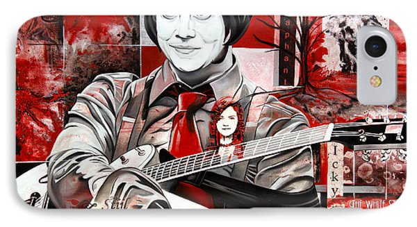 Jack White IPhone Case by Joshua Morton