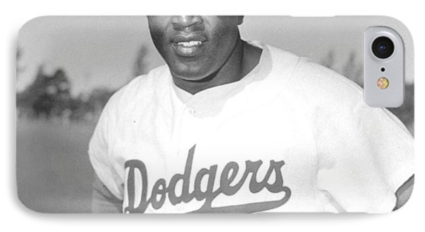 Jackie Robinson Poster Phone Case by Gianfranco Weiss