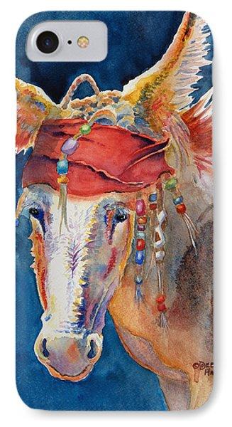 Jack Burro -  Donkey IPhone 7 Case by Deb  Harclerode