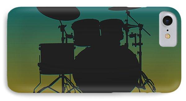 Jacksonville Jaguars Drum Set IPhone 7 Case by Joe Hamilton