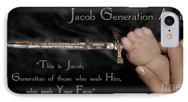 Jacob Generation IPhone Case by Constance Woods