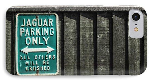 Jaguar Car Park IPhone Case by Joana Kruse