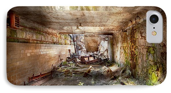 Jail - Eastern State Penitentiary - The Mess Hall  Phone Case by Mike Savad
