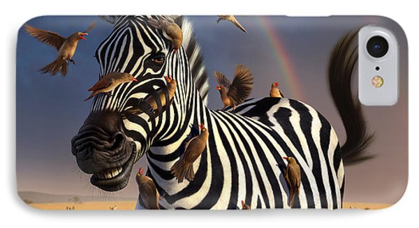Jailbird IPhone 7 Case by Jerry LoFaro