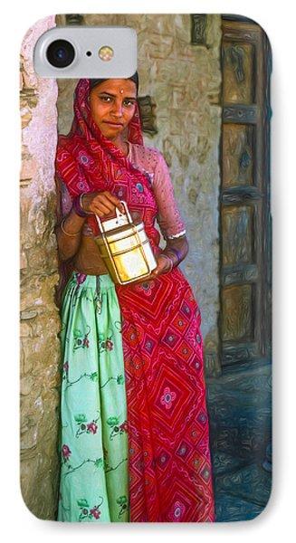 Jaisalmer Beauty - Paint IPhone Case by Steve Harrington