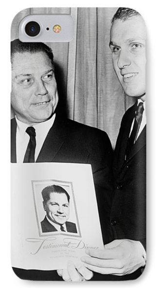 James R Hoffa And Son 1965 IPhone Case by Mountain Dreams