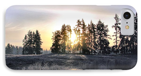 January Morning Phone Case by Rory Sagner