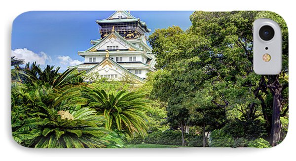 Japan, Osaka, Nara Prefecture IPhone Case by Jaynes Gallery