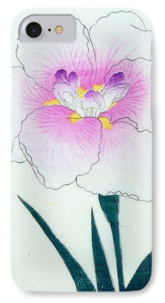 Japanese Flower IPhone 7 Case by Japanese School