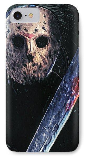 Jason Voorhees IPhone Case by Taylan Apukovska