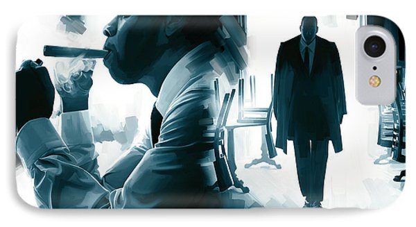 Jay-z Artwork 3 IPhone Case by Sheraz A