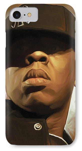 Jay-z Artwork IPhone Case by Sheraz A