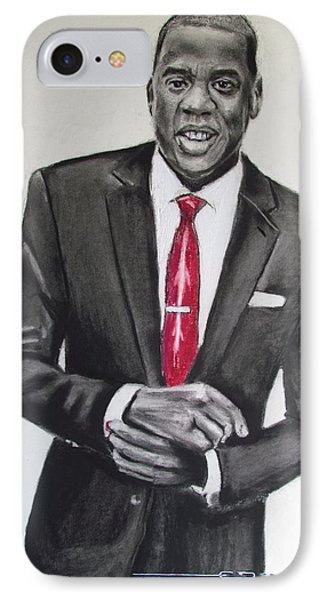 Jay Z IPhone Case by Eric Dee