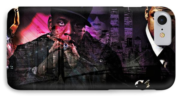 Jay Z Phone Case by Lynda Payton